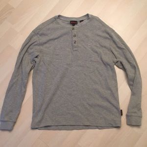 Wolverine Men's Long Sleeve Henley
